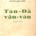 Tản Đà Vận Văn Toàn Tập - Nguyễn Khắc Hiếu
