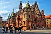 Geçen yine Wroclaw da geziyorum