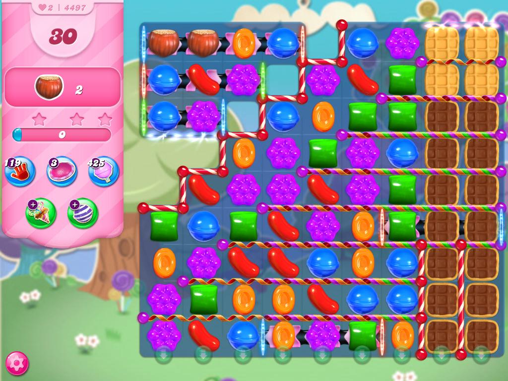 Candy Crush Saga level 4497