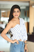 Avantika Mishra in One Shoulder Crop Top and Denim Jeggings ~  Exclusive 066.JPG