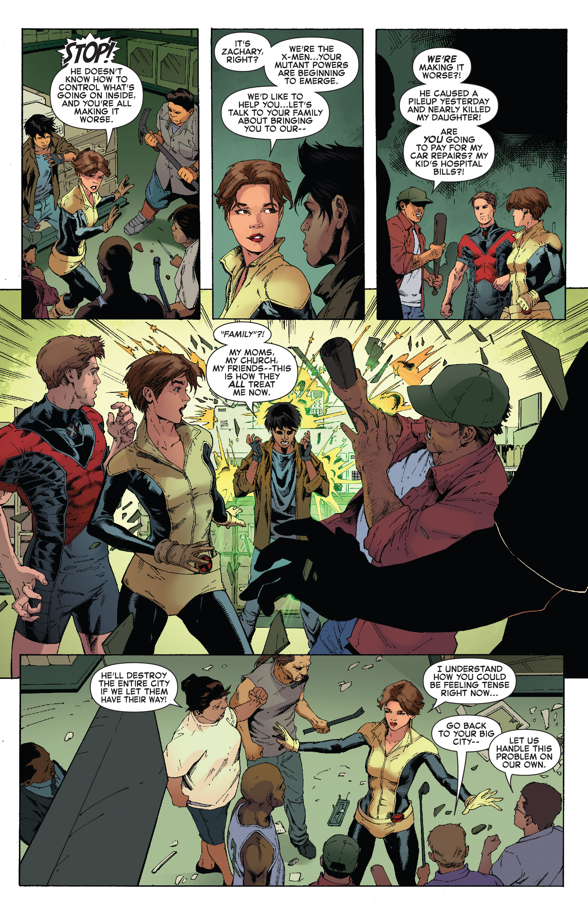 Read online Iceman (2017) comic -  Issue #2 - 10
