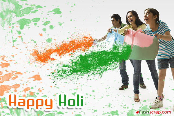 Best Happy Holi Greeting in Hindi