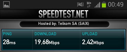 upload speed higher than download speed 4g