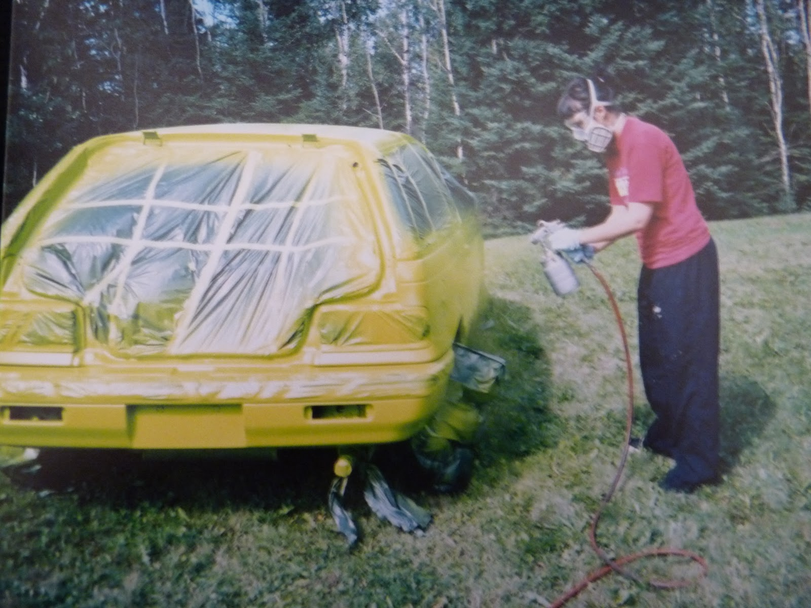 Painting a Car Yourself