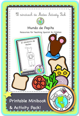 Manners printable minibook in Spanish for elementary school
