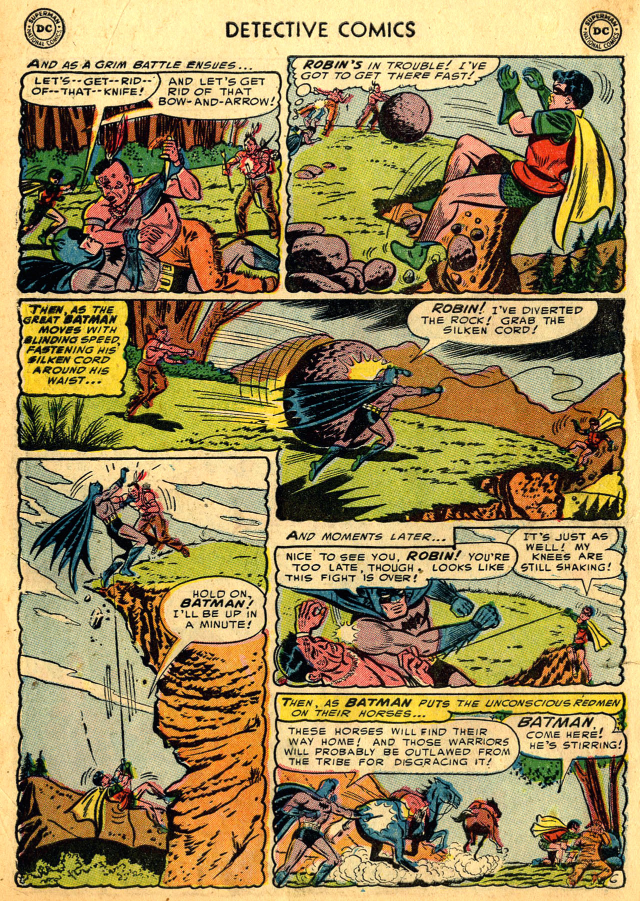 Read online Detective Comics (1937) comic -  Issue #205 - 8