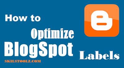 Optimize Blogspot Labels Link