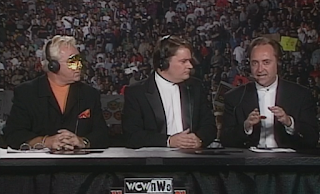 WCW Halloween Havoc 1998 - Bobby 'The Brain' Heenan, Tony Schiavone, and Iron Mike Tenay