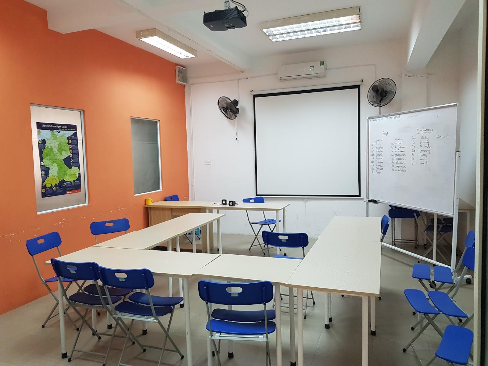 Cho thuê phòng học giá tốt tại Hà Nội