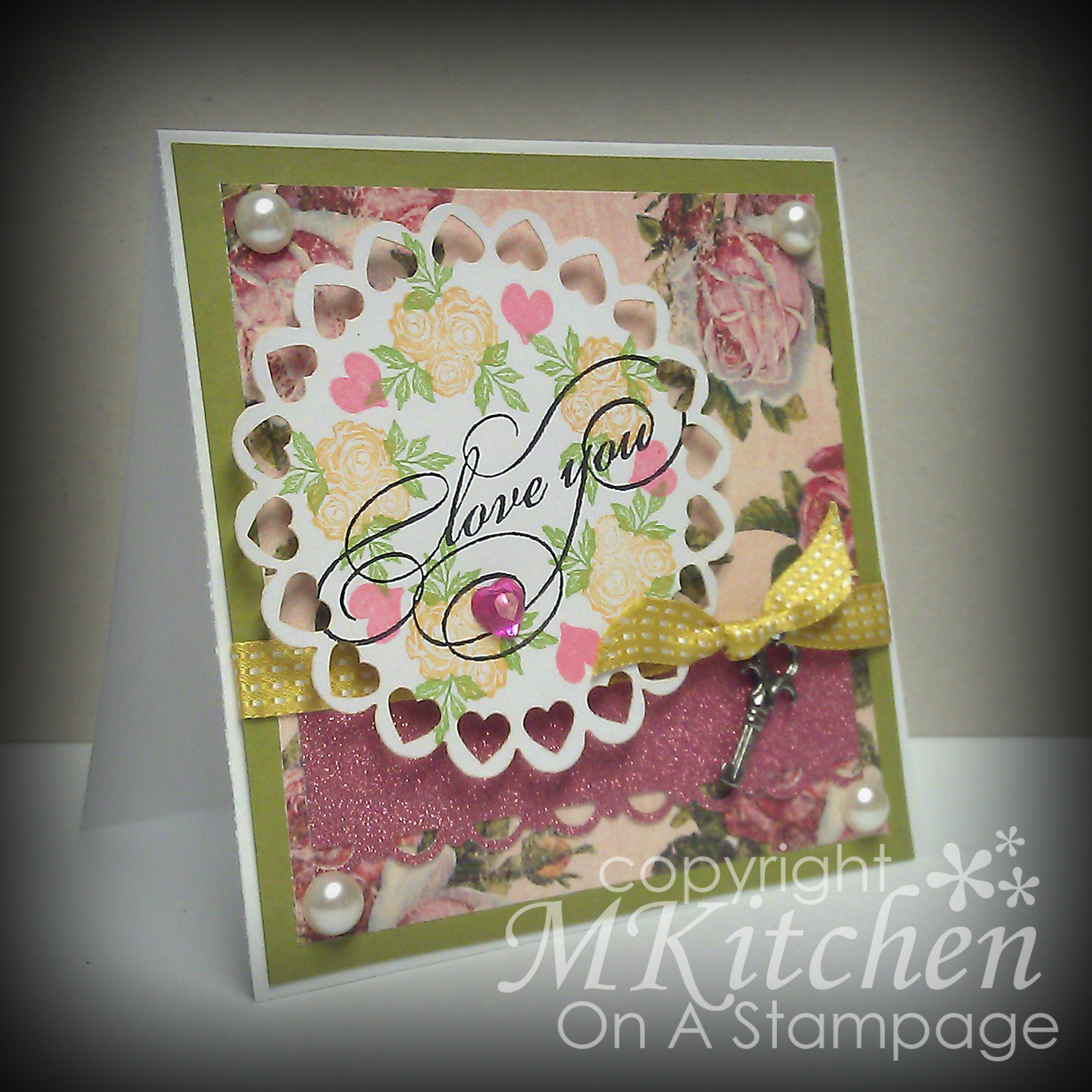 Crafty Cardmakers Challenge 84 Vintage Love