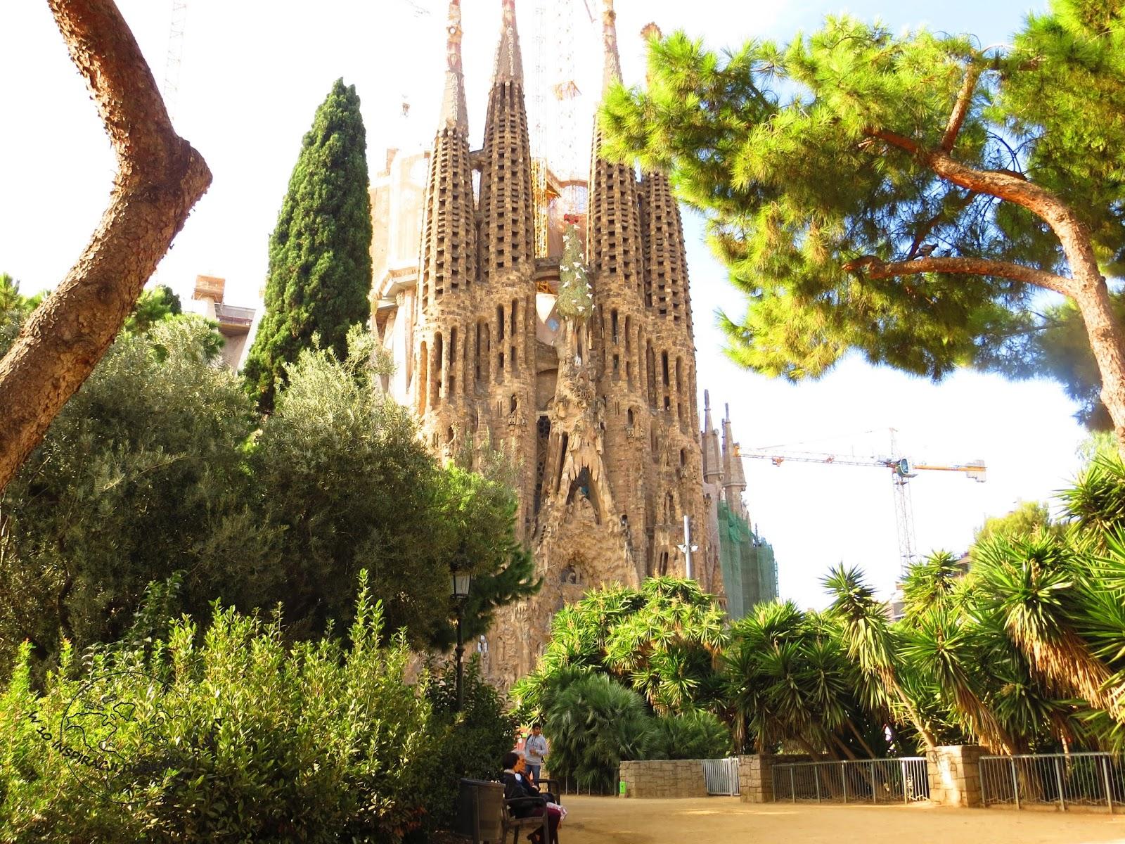 Barcelona na jesień czyli Tapas i Gaudi w strugach deszczu