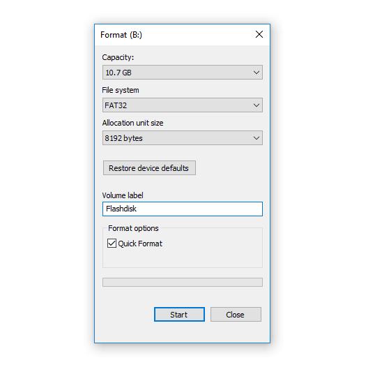 Menghapus Shortcut Flashdisk