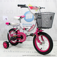 12 Inch Vita-T Classic Kids Bike  Basket Pillion With Upholstery Foamitemprop