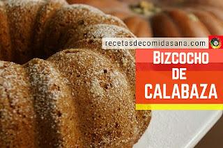 Bizcocho de Calabaza