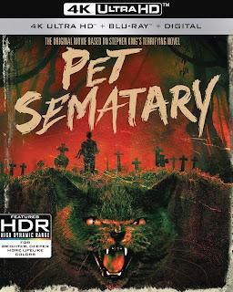 Pet Sematary 4K UHD, Blu-Ray, Digital