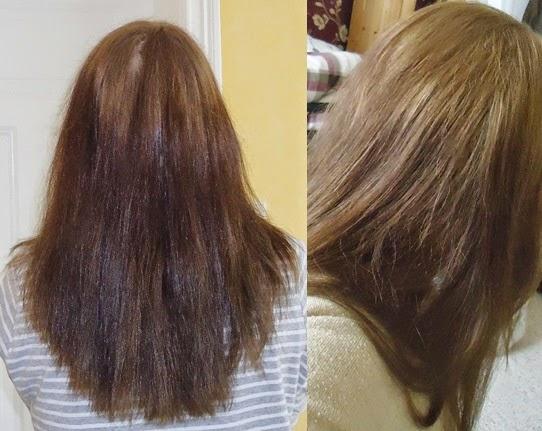 Braune haare bleichen mit backpulver
