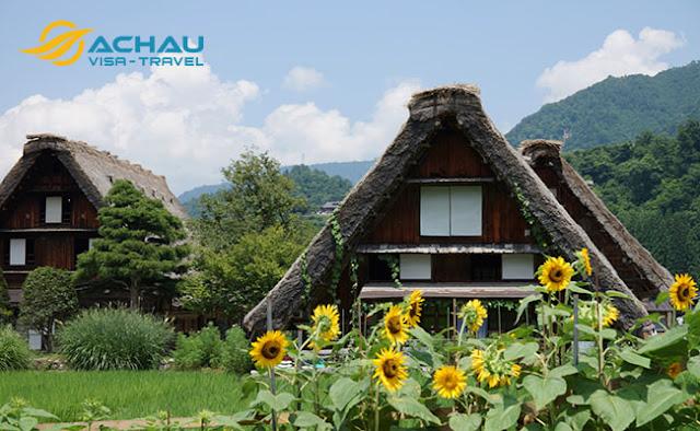 Ngôi làng được ví như làng cổ tích ở Nhật Bản2
