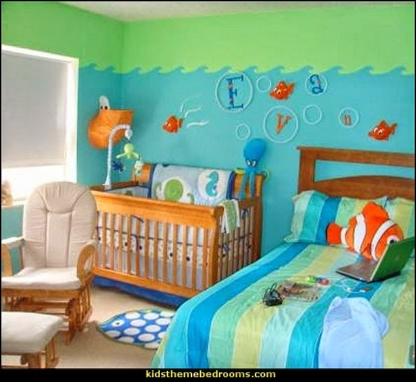 Decorating theme bedrooms maries manor under the sea for Babies bedroom decoration