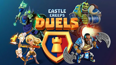 Download Castle Creeps Duels MOD APK (Unreleased) Full for Android Terbaru 2017 Gratis