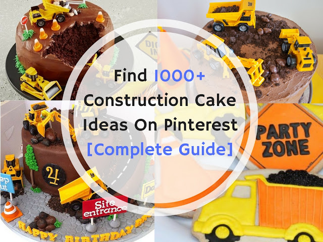 Construction Cake Ideas : How to Find 1000+ Construction Cake Decoration Ideas On Pinterest