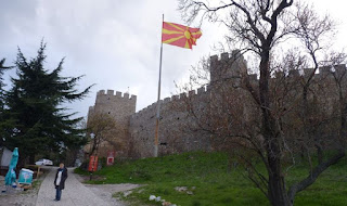 Castillo o Fortaleza de Samuel, Ohrid.