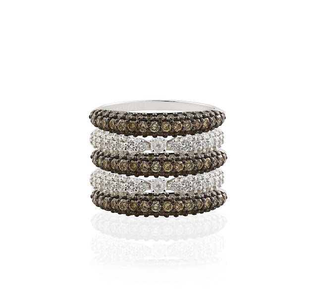 Stackable rings collection from Aurelle by Leshna Shah