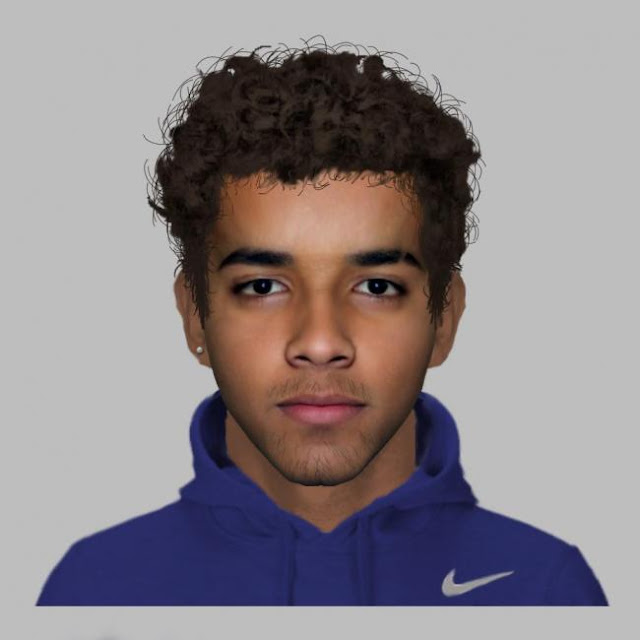 E-fit released of man wanted over knifepoint robbery of teenage girl in Shaftesbury Court, Girlington