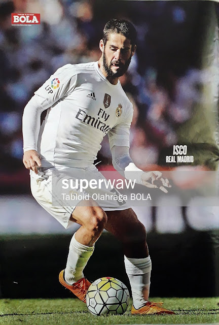 POSTER ISCO (REAL MADRID 2015)