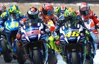 Lorenzo Juara MotoGP Le Mans 2016, Rossi Kedua