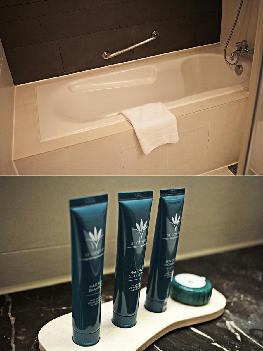 badezimmer badewanne hotel