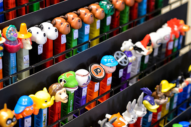 PEZ for sale at Steel City PEZ Gathering
