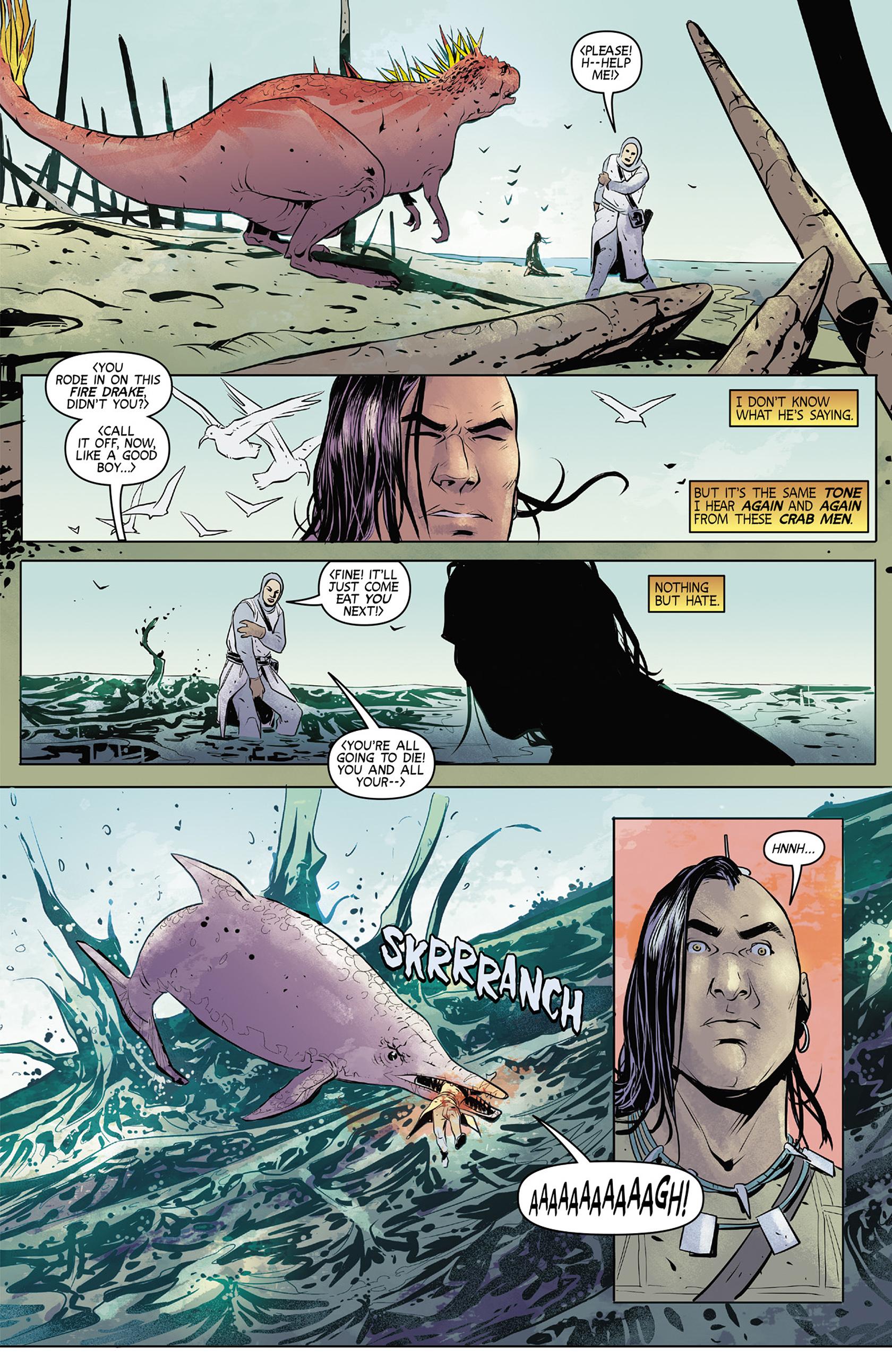 Read online Turok: Dinosaur Hunter (2014) comic -  Issue #4 - 7