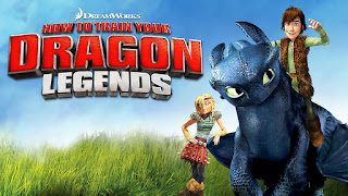 Netflix Original How To Train Your Dragon Legends