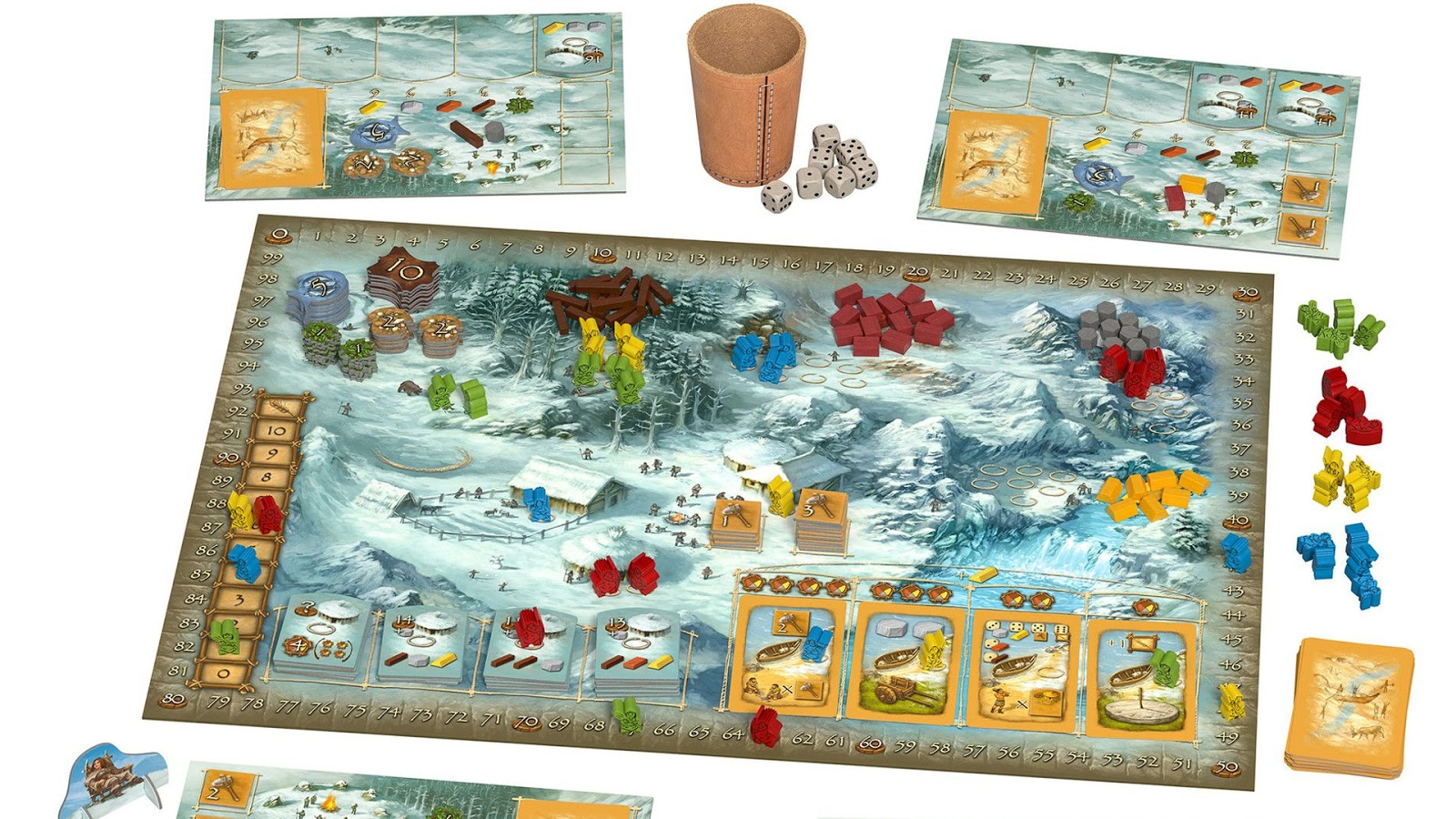 Polyhedron Collider Board Game News - STONE AGE 10th ANNIVERSARY EDITION