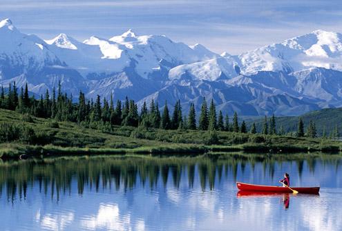 Salju di Alaska