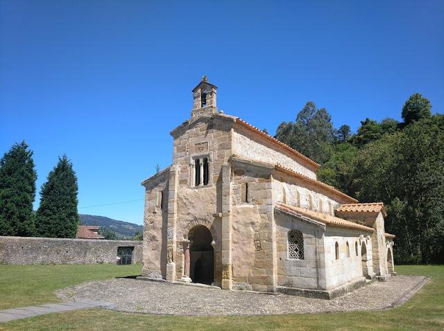 Santa Maria de Valdedios en Villaviciosa (Asturias-España)