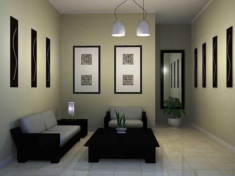 Desain Ruang Tamu Sederhana Mungil