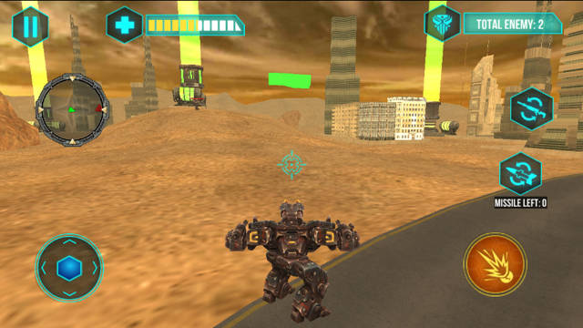 Futuristic War Robots Android 1.1 Full