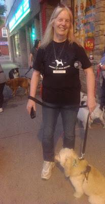 Image: Catherine on a Good Doggy Pack Walk with Denny