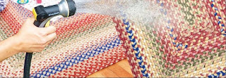 easy cleaning of Polypropylene braided rug