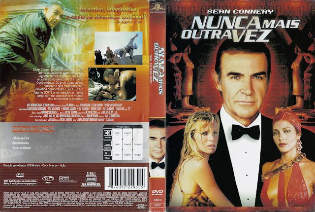 Capa DVD Nunca Mais Outra Vez