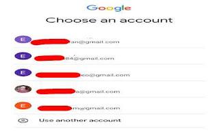 List email google anda