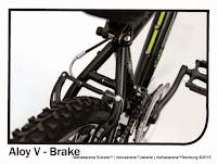 Sepeda Gunung Reebok Chameleon Green Rangka Carbon Steel 18 Speed 24 Inci