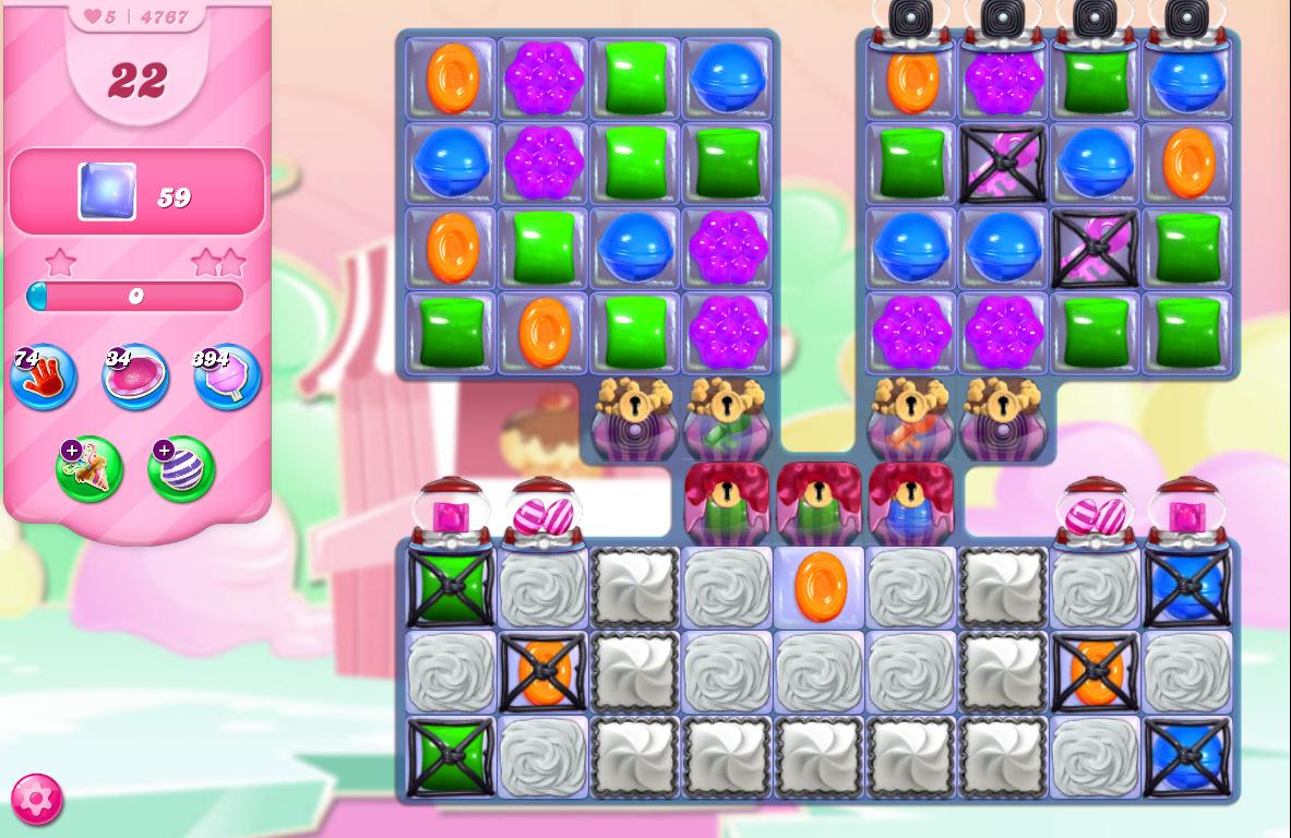 Candy Crush Saga level 4767