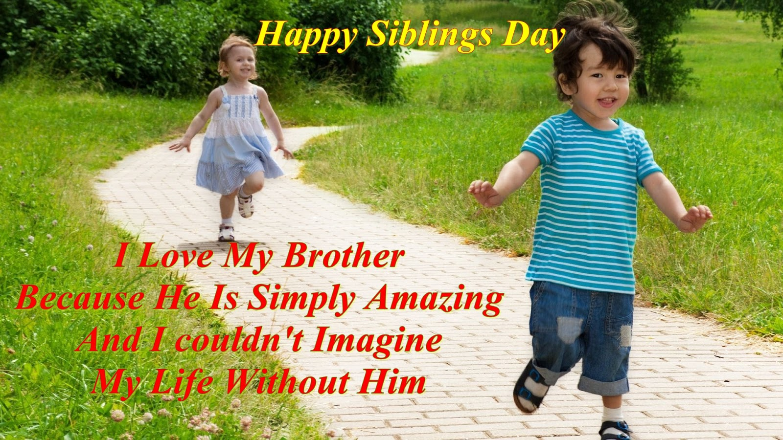 Brother And Sister Love Quotes Cuteilovemybrotherquotes 1600×900 Pixels  May Calendar