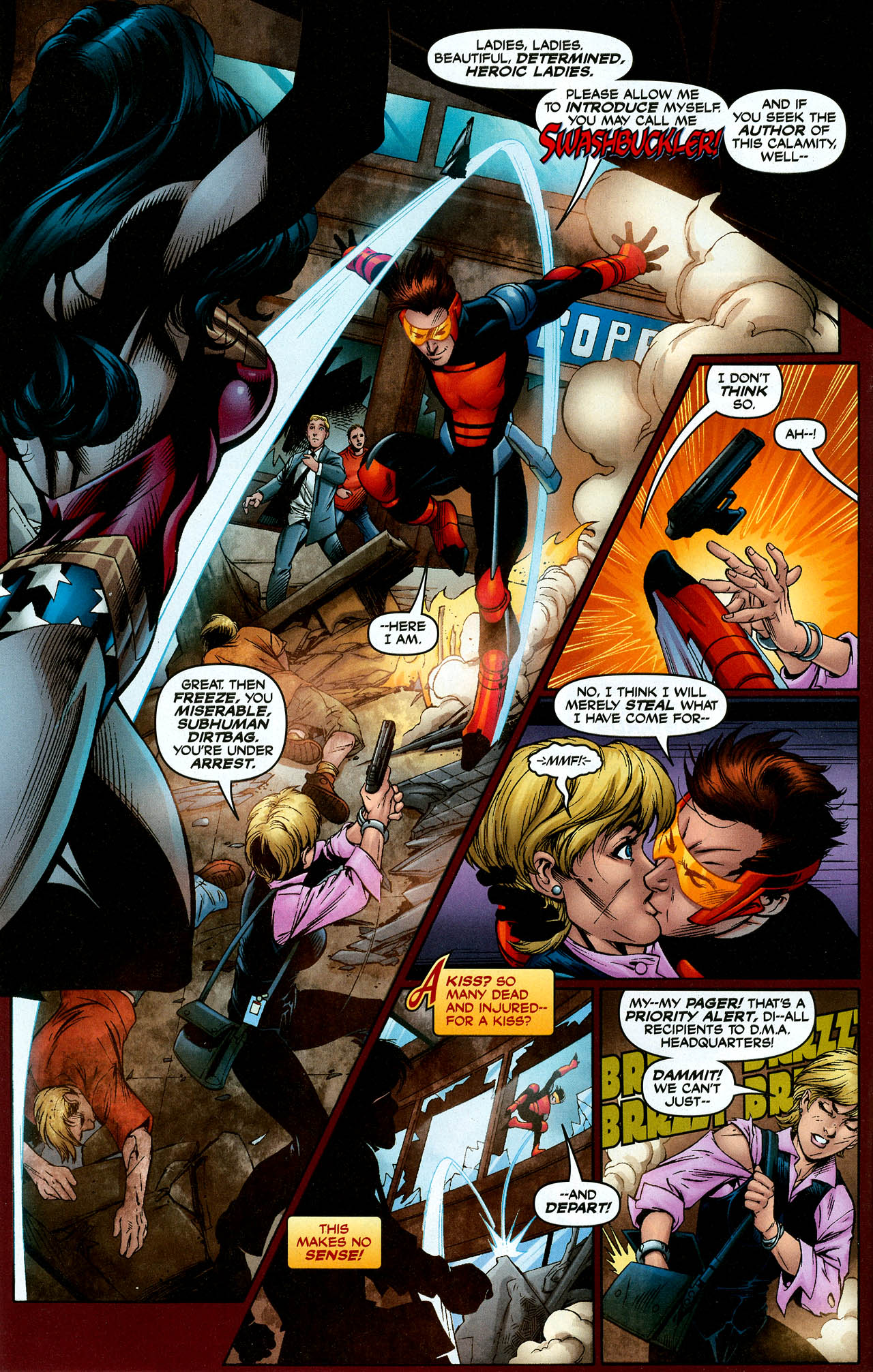 Read online Trinity (2008) comic -  Issue #9 - 4