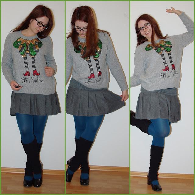 [Fashion] Weihnachtsoutfit: Elfie Selfie