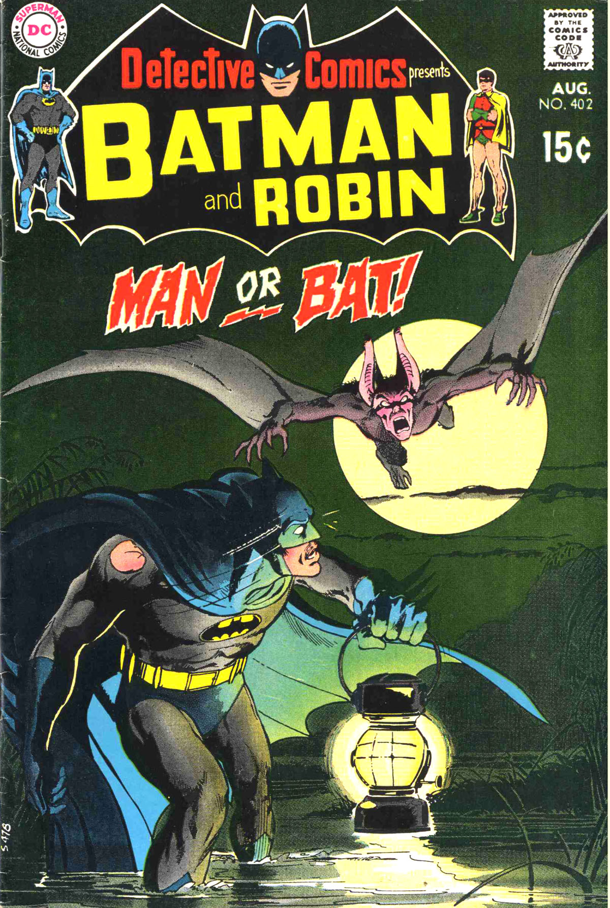 Detective Comics (1937) 402 Page 0