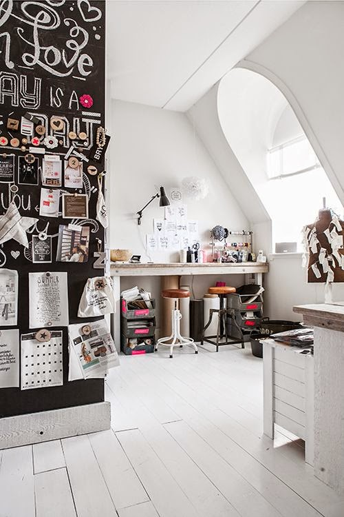 Super creative home office Daily Dream Decor