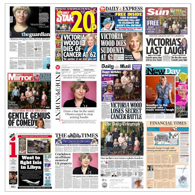 front pages 21-04-16